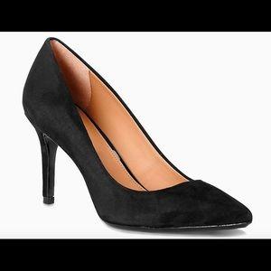 Calvin Klein Gayle Black Suede Pump 8